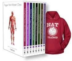 Trigger Point Therapy - NAT Master Collection (20.5 CEU's) + Free Hoodie #therulesoftennis