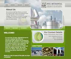Heating and Air Website Service Projects, Commercial, Web Design, Indoor, Website, Interior, Design Web, Website Designs