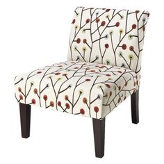 Avington Upholstered Slipper Chair - Whimsical