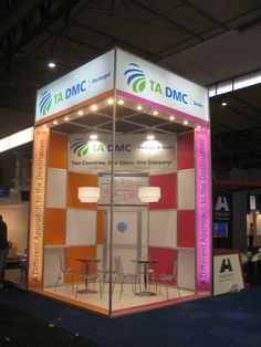 JUAN FUENTES STAND has designed and produced the stand for EIBTM (Barcelona - Spain)