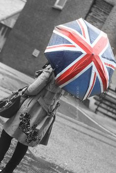 The Union Jack Umbrella...buying 2 for our trip