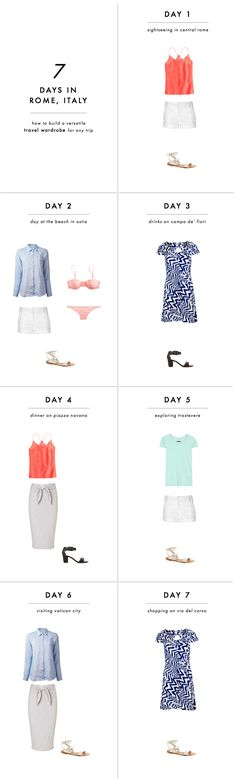 How to build a versatile travel wardrobe for any trip: A 3-step formula