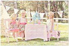 Cute Spring mini session idea