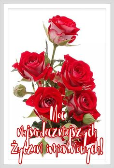 Z okazji... 🎂🌹🥀🐞🍬🥂🍷🍾🍹🍸🌹🥀🎂🌷🌹🌻🥀🐞🐝 Happy Birthday Name, Beautiful Rose Flowers, Thank You Letter, Good Afternoon, Floral Wreath, Lettering, Fun, Disney, Decor
