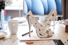 Lora Zombie shoes, very cute