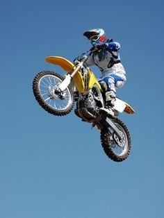 jump a dirt bike