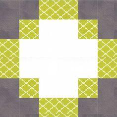 Antique Modern Quilt Block Pattern