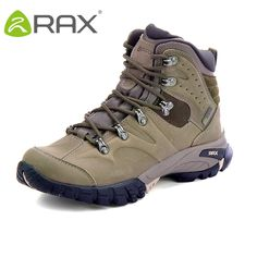 e75116767bc RAX Winter Hiking Boots Men Waterproof 2018 Warm Sports Sneakers for Women  EVENT Water Socklining Hiking Shoes Men Trekking Shoe.