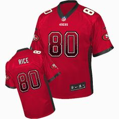 b606f8ac0 nfl jersey with captain patch Nike Ronnie Lott Red Team Color Men s  Stitched NFL Elite Drift Fashion Jersey. san francisco 49ers store · Jerry  Rice ...