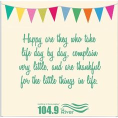 Just a little something to start your day. Make it great! #MtSMorningMotivation #riverpositivethought