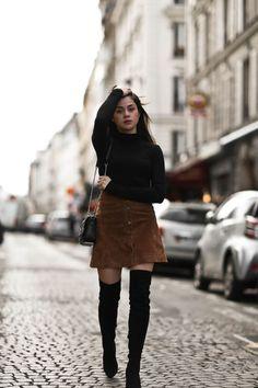 4 façons stylées de porter du daim | 4 Stylish Ways to Wear Suede