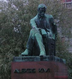 Aleksis Kivi Finnish Language, Natural Resources, The Republic, Helsinki, View Image, Boards, Hero, Statue, History