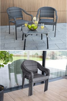 Letnej idylke už nič nestojí v ceste.  ☀️ Zažite ju s záhradnou stoličkou 🖤BINGA🖤, ktorá je ideálna k akémukoľvek záhradnému stolu. 😍 #zahrada #zahradnynabytok #zahradnastolicka #ratanovastolicka #temponabytok