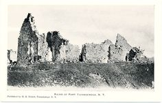 Collectible New York Postcards Fort Ticonderoga, American Revolutionary War, Worlds Largest, New York, History, Places, Travel, Collection, New York City