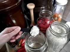 Fermented Peppers--