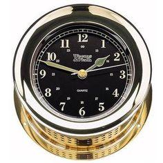 Atlantis Premiere Quartz Clock (Black)