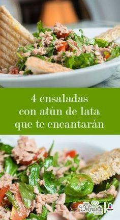 ensaladas con atun de lata   CocinaDelirante