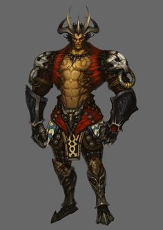 medusa by artkingman on DeviantArt Fantasy Heroes, Fantasy Warrior, Dark Fantasy Art, Fantasy Male, Fantasy Character Design, Character Concept, Character Art, Black Anime Characters, Fantasy Characters