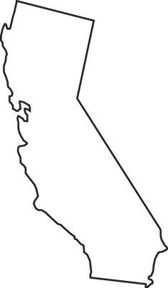 california outline clip art - Google Search