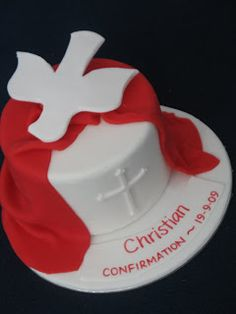 Blissfully Sweet: Confirmation Cake Topper