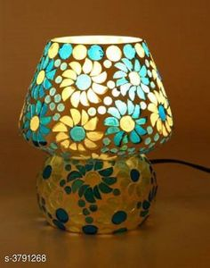 LED Lights & Lamps Multicolor Hand Decorative With Colorful Beads & Chips Glass Table Lamp  Product Type : Table Lamp  Material : Glass Cord Length:-60 inch Shade Length:-14 cm Description : It Has Set Of 1 Glass Table Lamp Country of Origin: India Sizes Available: Free Size *Proof of Safe Delivery! Click to know on Safety Standards of Delivery Partners- https://ltl.sh/y_nZrAV3  Catalog Rating: ★4.1 (1249)  Catalog Name: Multicolor Hand Decorative With Colorful Beads & Chips Glass Table Lamp Vol 2 CatalogID_531387 C103-SC1416 Code: 964-3791268-