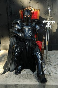 I can get married in full armor, right? Right?! Too expensive anyway, I'm sure.    Medieval Batman Armor