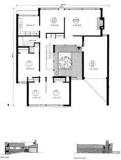 Usonian House, Mansard Roof, Suburban House, Dormer Windows, Gambrel, Flat Roof, Bungalow, Building A House, Mid-century Modern
