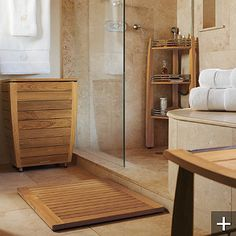 This beautiful and functional Resort Teak Corner Shelf Caddy is an elegant addition to your spa-inspired bath. Made from ecologically harvested teak wood, this caddy will hold all your bath essentials. Teak Bathroom, Bathroom Ideas, Bathroom Updates, Basement Bathroom, Bath Ideas, Bathroom Inspiration, Bathroom Interior, Corner Shower Seat, Shower Storage
