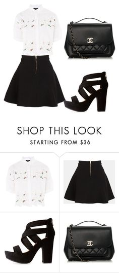 """""""Untitled #101"""" by kim-mj on Polyvore featuring Topshop, Parker, Bamboo and Chanel"""