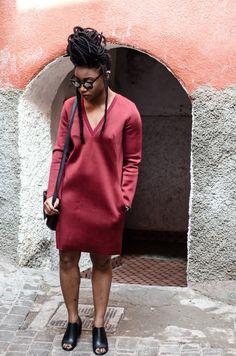 Uzy Nwachukwu: That Scuba Dress | natural hair | bgki | black girl magic | style | fashion blogger | fashionista | woc fashion blogger | fashion