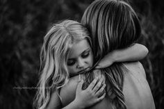 Chunky Monkey Photography by Meghan Hicks ~ Mother Daughter session ~ Black and White Photo ~ Looks like film