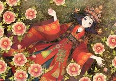 63 Asian Art Wallpapers Wallpapers available. Share Asian Art Wallpapers with your friends. Submit more Asian Art Wallpapers Crystal Wedding Dresses, Wedding Dresses For Girls, Korean Art, Asian Art, Illustrations, Illustration Art, Cartoon Puzzle, World Famous Paintings, Kids Jigsaw
