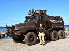Florida Police Have a New Toy: A U.S. Military Surplus Battle Wagon