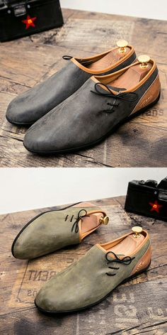 5b86e2342f2c Prelesty New Autumn Men High Quality Leather Slip On Casual Shoes Loafer  Cool