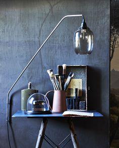 maak van een hanglamp een wandlamp
