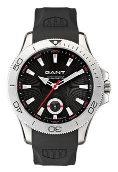 Gantin sporttinen vesitiivis kello kumirannekkeella, 149 €. - Timanttiset Kulta-Aika