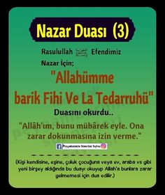 Nazar Duaları Islamic Teachings, Islamic Messages, Allah Islam, Karma, Prayers, Therapy, Psychology, Quotes, Counseling