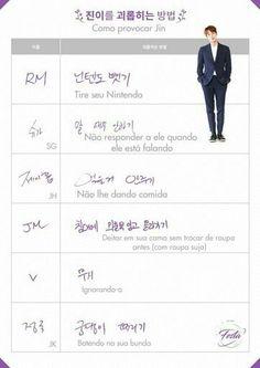 Como provocar o Jin
