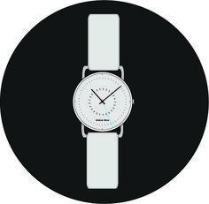 Tickrick Wristwatch design by Abhinav Misra. Modern , contemporary , Minimalist