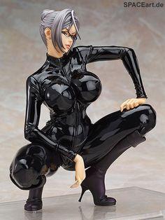 Prison School: Meiko Shiraki - Black CatSuit, PVC Figure.