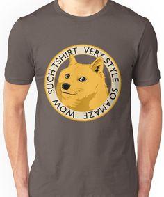 Wow such shirt! Unisex T-Shirt