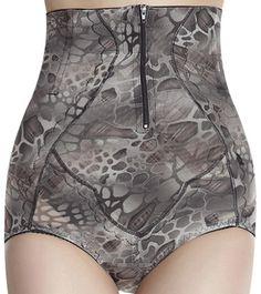 c96b72ced49 Sexy Grey Zipper Underwear Butt Lift Body Shaper For Men