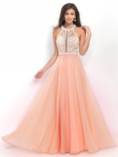 Simple Blush Prom 11007 Flirty Beaded High Neck Chiffon Gown For Red Homecoming Dresses, Prom Dresses Jovani, Prom Dresses 2016, A Line Prom Dresses, Evening Dresses, Prom 2016, Grad Dresses, Pageant Dresses, Party Dresses