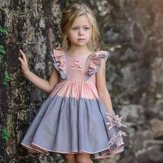 Diy Clothes Baby Girl Toddler Dress 57 Ideas For 2019 Baby Girl Party Dresses, Toddler Girl Dresses, Baby Outfits, Kids Outfits, Girl Toddler, Baby Dress Design, Frock Design, Frocks For Girls, Kids Frocks