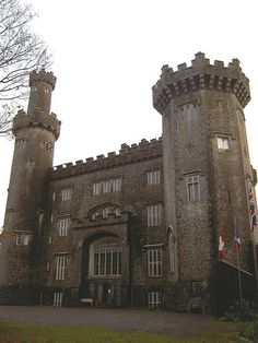 The most haunted castle in Ireland . The most haunted castle in Ireland . Abandoned Castles, Abandoned Places, Haunted Castles, Famous Castles, Haunted Houses, Abandoned Mansions, Castle Ruins, Medieval Castle, Most Haunted
