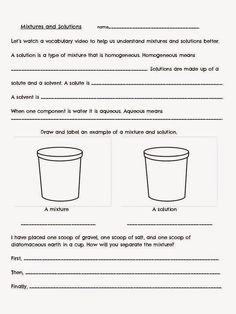 solutes and solvents worksheet - laveyla.com