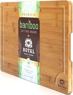 ROYAL CRAFT WOOD Natural Bamboo Cutting Board, Serving Tr... https://smile.amazon.com/dp/B01MU0C1F5/ref=cm_sw_r_pi_awdb_x_v9a4ybHDPQW84