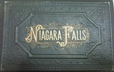 Vintage Niagra Falls postcards