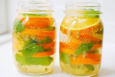 Infused water with ginger, passion fruit and more - recipe + health benefits