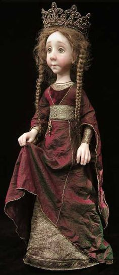 by Ekaterina Manshavinac ......I generally find dolls creepy but this one caught my eye for some reason.